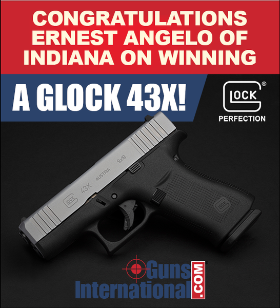 Giveaway Contest: Glock 43X