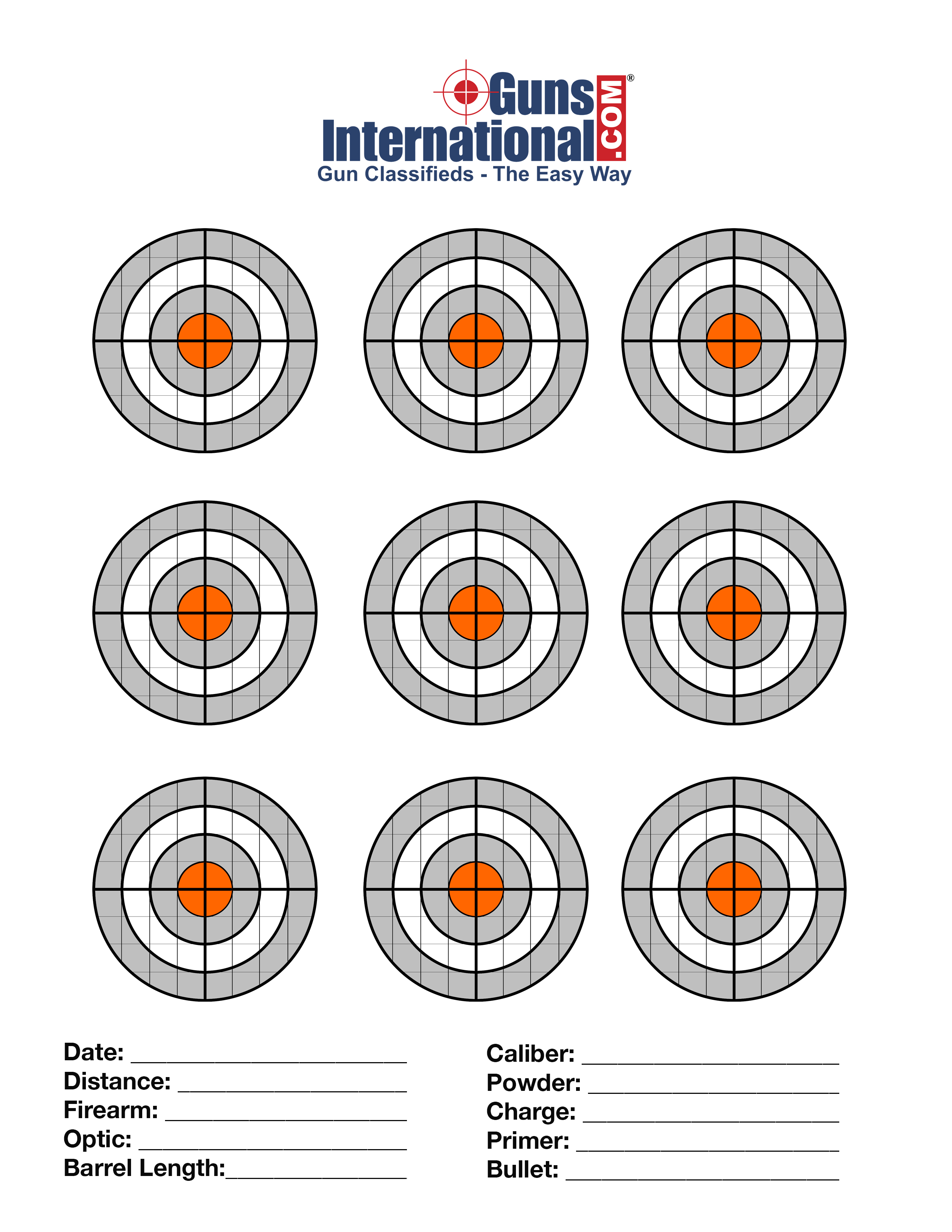 This is a picture of Playful Free Targets Online