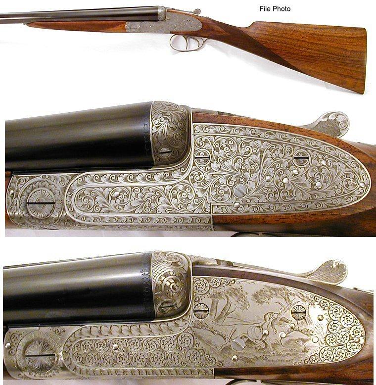 Original completed Holland & Holland style Jules Bury shotguns