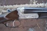 W.WOLFE side by side with ejectors merkel action ejector gun - 1 of 6
