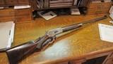 1886 Winchester Deluxe Rifle- Super Scarce