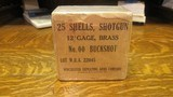 winchester wwii brass buckshot for trenchguns