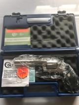 "COLT ANACONDA 6"" SATIN STAINLESS .44 MAGNUM NEW IN BOX CYLINDER NEVER TURNED"