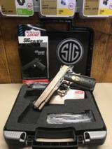 *NEW* Sig Sauer Spartan Full Size 1911 5""