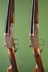 William Evans Pall Mall Side by side 12 bore shotguns