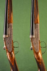 Pair of William Evans Pall Mall Side by side 28 bore shotgun