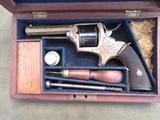W&C. Scott Antique Revolver (Cased ,in Fine Original Condition.)