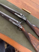 "W&C. Scott 16 Bore Feather Weight London ""Best"" Quality Gun. Rare Model. - 15 of 15"