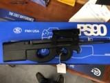 FN PS90BLK W TRI RAIL 30 ROUND MAG