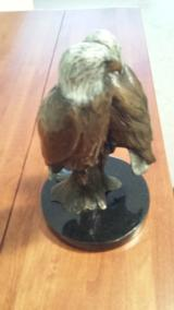 """Hampden Eagles"" in Bronze by Forest Hart"