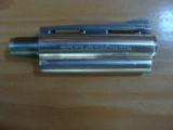 "COLT PYTHON BARREL, 4"" STAINLESS, [BARREL ONLY] APPEARS TO HAVE NEVER BEEN ON A GUN - 2 of 2"