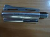 "COLT PYTHON BARREL, 4"" STAINLESS, [BARREL ONLY] APPEARS TO HAVE NEVER BEEN ON A GUN - 1 of 2"