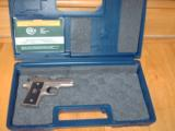 COLT MUSTANG STAINLESS 380 CAL. NIB.