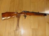 ANSCHUTZ 141, 22 MAGNUM, HIGH GLOSS, CHECKERED, FANCY FRENCH WALNUT WITH ROSEWOOD FOREARM TIP, 99% COND. [SOLD PENDING FUNDS] - 1 of 5