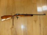 ANSCHUTZ 141, 22 MAGNUM, HIGH GLOSS, CHECKERED, FANCY FRENCH WALNUT WITH ROSEWOOD FOREARM TIP, 99% COND. [SOLD PENDING FUNDS] - 4 of 5