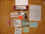 COLT GOVERNMENT 380 CAL. STAINLESS, LIKE NEW IN BOX - 2 of 4