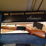 "BROWNING BELGIUM [SWEET-16] 26"" IMPROVED CYL. VENT RIB, ROUND KNOB, MFG. 1963 NEW IN BOX 100% COND. NEVER BEEN ASSEMBLED"