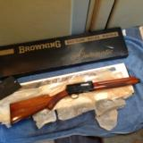 """BROWNING BELGIUM A-5 [SWEET-16] ROUND KNOB, 28"""" MOD. VENT RIB, MFG 1963, 100% COND. NEW IN BOX- 1 of 7"""