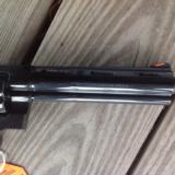 "COLT PYTHON 357 MAG. ""ELITE"" 6"" ""ROYAL BLUE"" LIKE NEW IN BOX - 4 of 7"
