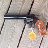 "COLT PYTHON 357 MAG. ""ELITE"" 6"" ""ROYAL BLUE"" LIKE NEW IN BOX - 2 of 7"