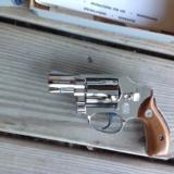 """SMITH & WESSON M-40 """"NO DASH"""" """"LEMON SQUEEZER""""CENTENNIAL,38 SPC. 2"""" NICKEL, UNFIRED, UNTURNED 100% COND. IN BOX - 2 of 3"""