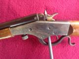 STEVENS 26 1/2 CRACKSHOT, [RARE SMOOTH BORE] 22-SHOT MFG. 1913-1941 IN CHICOPEE FALLS, VERY GOOD COND. - 7 of 10