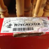 """WINCHESTER 9422,22 LR. HIGH GRADE, 20 1/2"""" BARREL [RACOON ON ONE SIDE, HOUND DOG ON THE OTHER SIDE], NEW UNFIRED IN BOX - 9 of 10"""