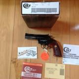 COLT BOA 357 MAG. BLUE, LIKE NEW IN BOX WITH OWNERS MANUAL, ETC. VERY HARD TO FIND MOST COLT SNAKE COLLECTORS DON'T HAVE A BOA IN THERE COLLECTION