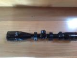BUSHNELL SPORTSMAN 4X-12X VARIABLE RIFLE SCOPE, DUPLEX CROSSHAIRS, LIKE NEW