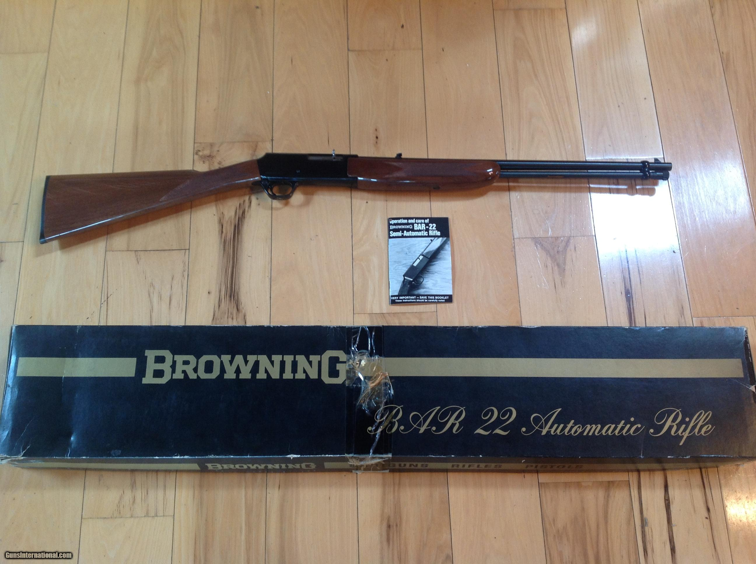 browning bar 22 lr new unfired in box with owners manual rh gunsinternational com browning gold hunter 12 gauge owner's manual browning gold hunter 3 1 2 owners manual