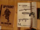 M-1 CARBINE, 30 CAL, D-DAY.OPERATION OVERLORD COMMERATIVE, HAS INVASION OF NORMANDY BATTLE SCENE ENGRAVED IN STOCK - 2 of 5