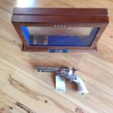 """GEORGE PATTON"" COMMERATIVE 45 CAL. REVOLVER #7 OF 2,500 MFG."