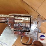 """""""GEORGE PATTON"""" COMMERATIVE 45 CAL. REVOLVER #7 OF 2,500 MFG. - 12 of 15"""