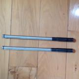 """SAVAGE 412F """"FOURTENNER"""", PAIR OF ALUMNIUM TUBES, TO CONVERT ANY BRAND 20 GA. DOUBLE BARREL OR SINGLE BARREL TO 410 GA., 2 1/2"""" OR 3 in"""