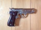 BROWNING BDA BRITE NICKEL, 380 CAL. AS NEW IN BOX. A VERY SCARCE GUN IN NICKEL - 2 of 4
