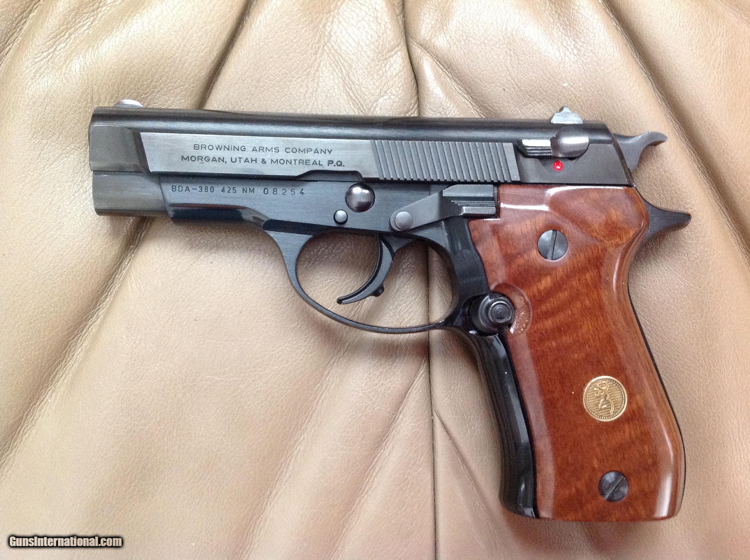 browning bda 380 auto blue 2 mag s 13 shot owners manual etc rh gunsinternational com Llama 45 Cal Pistol Llama 45 Caliber Handguns Sale
