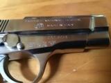 BROWNING BDA, 380, NICKEL, 13 SHOT, 99+% COND. - 4 of 6