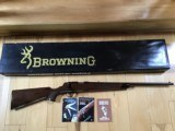 BROWNING A-BOLT, 22 MAGNUM, COME WITH OWNERS MANUAL, ETC. LIKE NEW IN THE BOX, VERY SCARCE IN 22 MAGNUM