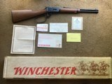 "WINCHESTER 94 WRANGLER II, 38-55 CAL., CARBINE 16"" BARREL ""TRAPPER"" LARGE LOOP, NEW UNFIRED IN BOX"