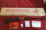 "WINCHESTER 9422, 22 MAGNUM, ""YELLOW BOY"", #3 SERIAL NO., THE 3RD YELLOW BOY MFG. NEW UNFIRED, 100% COND. IN BOX"