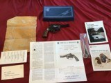"""SMITH & WESSON 51, 22 MAGNUM, 3 1/2"""" BLUE, NEW UNFIRED 100% COND., IN BOX WITH OWNERS MANUAL, ETC."""