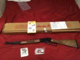 """MARLIN 444P, 444 CAL., 18 1/2"""" PORTED BARREL, CHECKERED WALNUT, NEW UNFIRED IN BOX"""