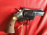 """COLT DIAMONDBACK 38 SPC., 2 1/2"""" BLUE, NEW, UNTURNED, 100% COND., IN FACTORY GREASE, IN BOX - 4 of 4"""