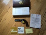"COLT DIAMONDBACK 22LR., 6"" BLUE, LIKE NEW IN BOX"