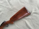 """WINCHESTER 43, 218 BEE CAL., 24"""" BARREL, DRILLED & TAPPED FOR SCOPE, HAS SWIVEL STUDS, 99% BLUE - 10 of 10"""