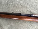 """WINCHESTER 43, 218 BEE CAL., 24"""" BARREL, DRILLED & TAPPED FOR SCOPE, HAS SWIVEL STUDS, 99% BLUE - 6 of 10"""