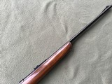 """WINCHESTER 43, 218 BEE CAL., 24"""" BARREL, DRILLED & TAPPED FOR SCOPE, HAS SWIVEL STUDS, 99% BLUE - 4 of 10"""