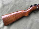 """WINCHESTER 43, 218 BEE CAL., 24"""" BARREL, DRILLED & TAPPED FOR SCOPE, HAS SWIVEL STUDS, 99% BLUE - 2 of 10"""