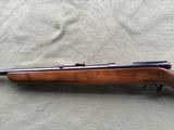 """WINCHESTER 43, 218 BEE CAL., 24"""" BARREL, DRILLED & TAPPED FOR SCOPE, HAS SWIVEL STUDS, 99% BLUE - 7 of 10"""
