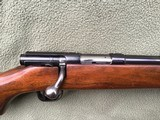 """WINCHESTER 43, 218 BEE CAL., 24"""" BARREL, DRILLED & TAPPED FOR SCOPE, HAS SWIVEL STUDS, 99% BLUE - 3 of 10"""